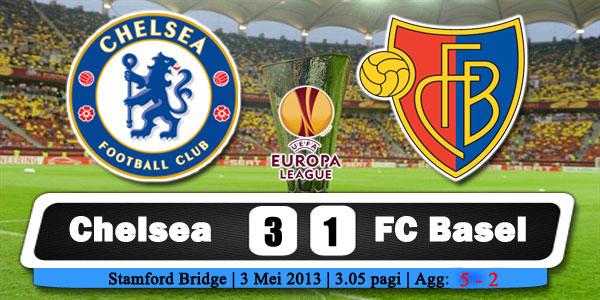 Keputusan Separuh Akhir Kedua Liga Europa 3 Mei 2013 - Chelsea vs FC Basel