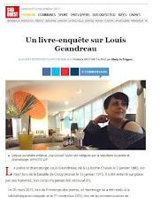 Nouvel article paru : Sud Ouest sur Louis Geandreau