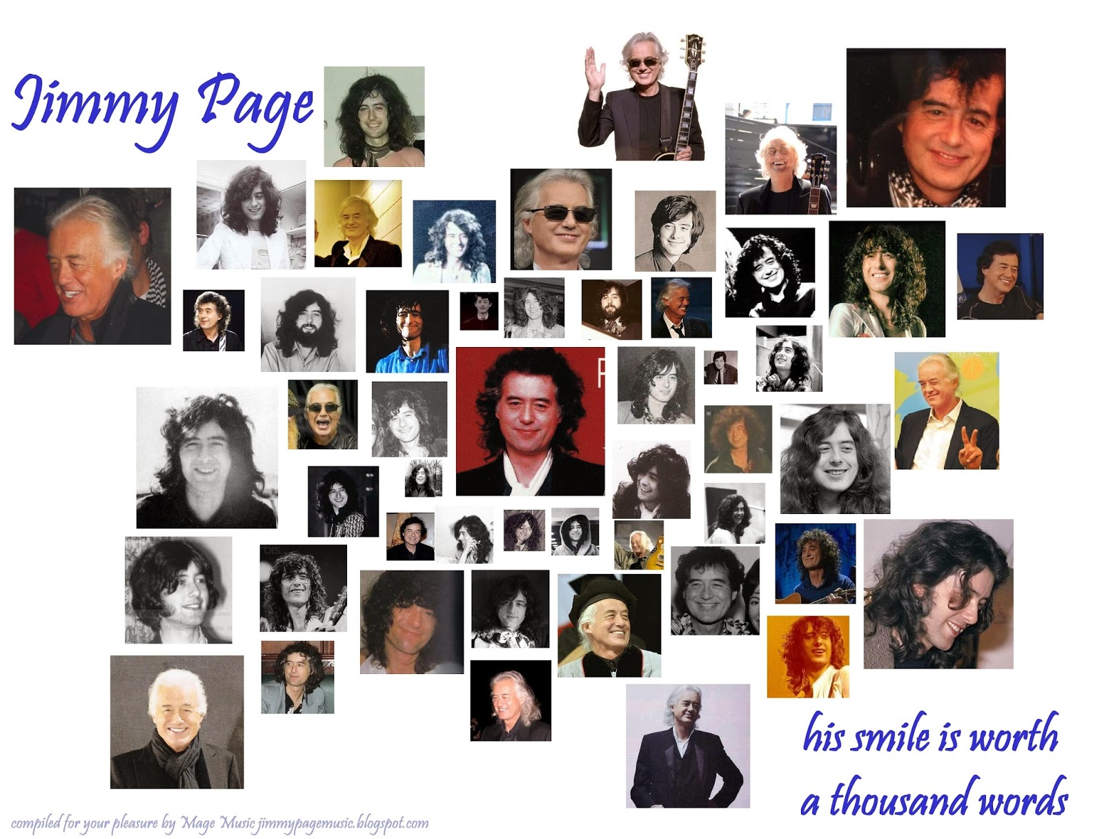 Mage Music - Jimmy Page Smiles - jimmypagemusic.blogspot.com