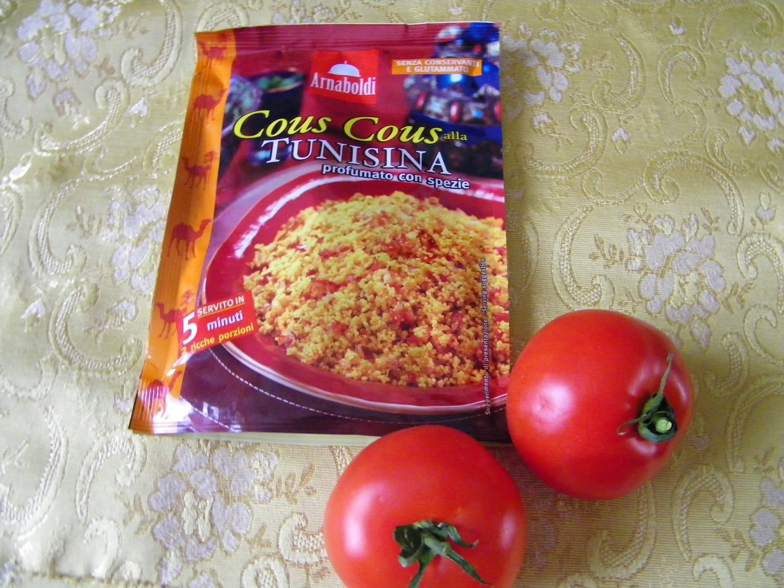 ,pomodori ripieni di  cous cous alla tunisina arnaboldi