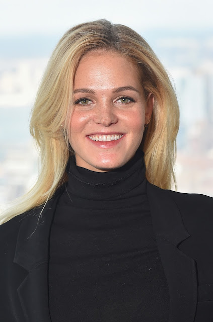 Actress, Model, @ Erin Heatherton - Sports Illustrated Swimsuit Press Conference in NYC