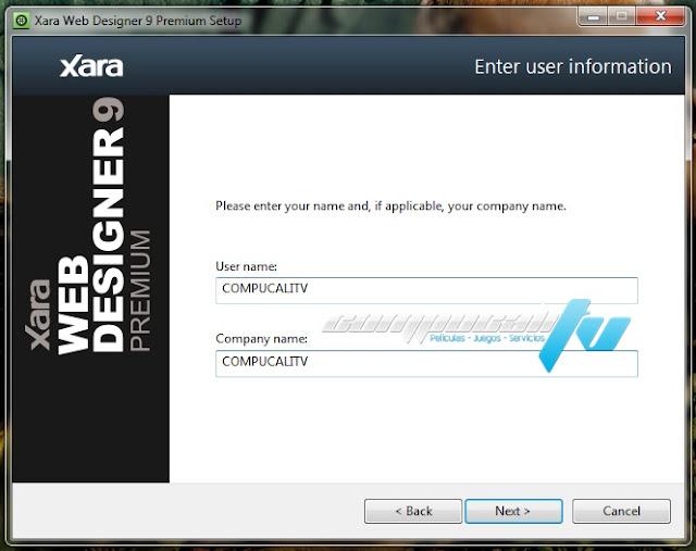XARA Web Designer Premium Versión 9.0