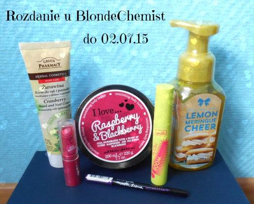 http://blondechemist.blogspot.com/2015/06/rozdanie-z-okazji-dnia-dziecka.html