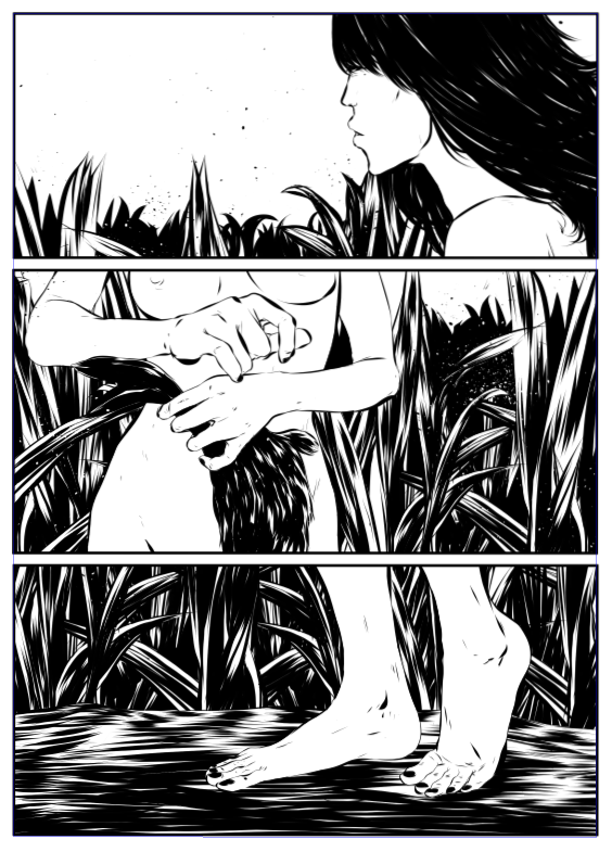 ©Mojo Wang - Mini Comic Story: Between Rivers #9