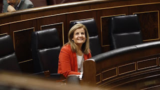 Fátima Báñez y una empresa multada por ERE emcubierto