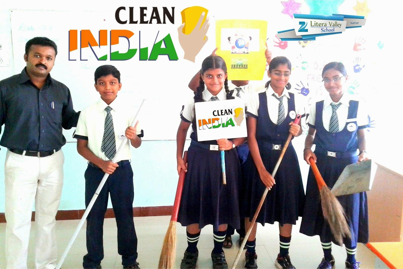 Zee School Karur Clean India Zee School