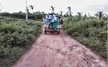 Em Trizidela do Vale alunos são transportados em pau de arara