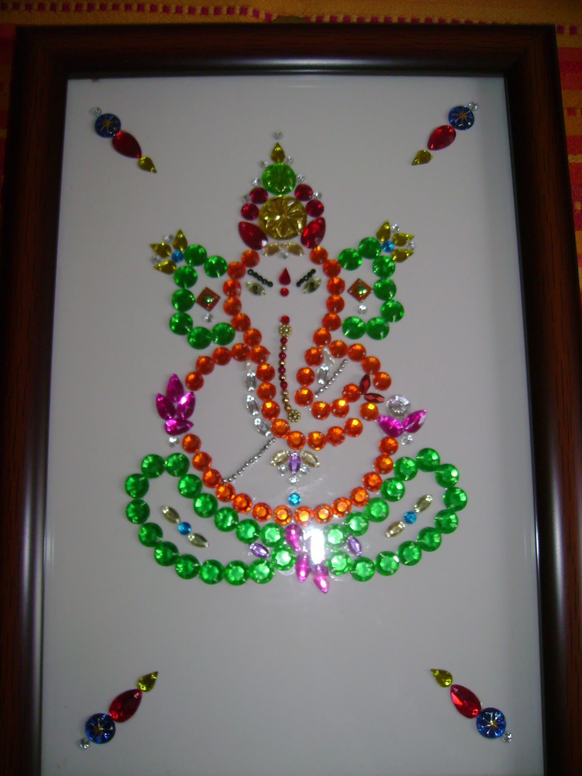 crafts recipies ganesh with different materials