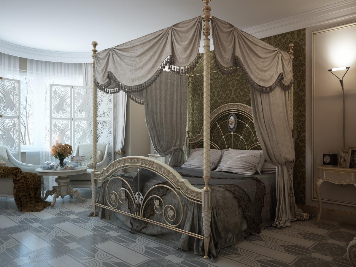 Смотреть онлайн женскую спальню 5 фотография