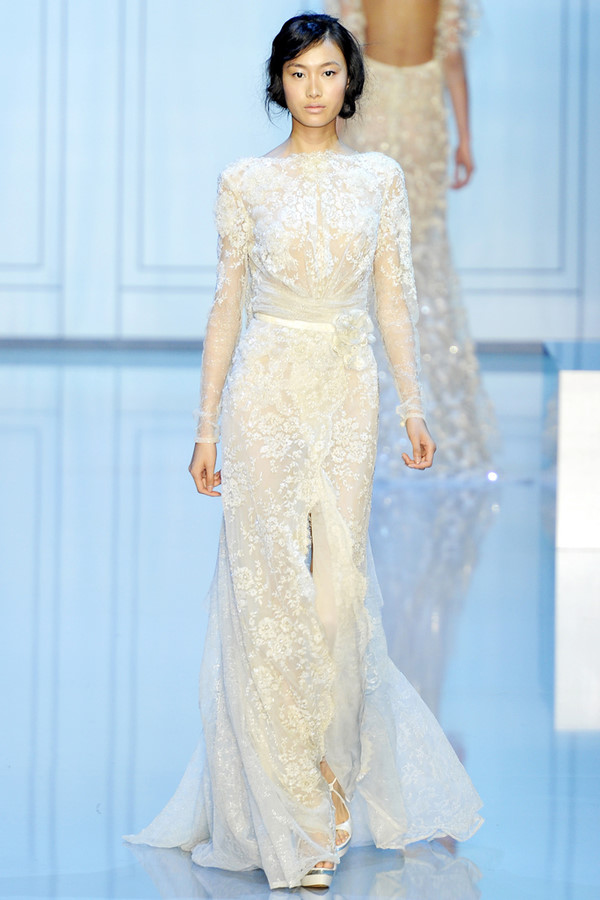 Fairy Bride Angel On Earth 2012 Elie Saab Wedding Dress