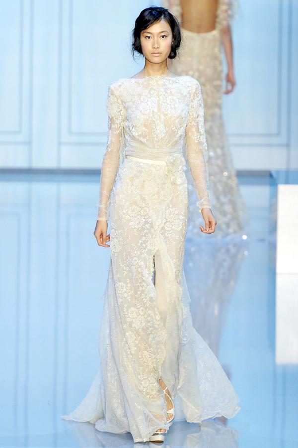 Fairy bride angel on earth 2012 elie saab wedding dress for Elie saab 2012 wedding dresses