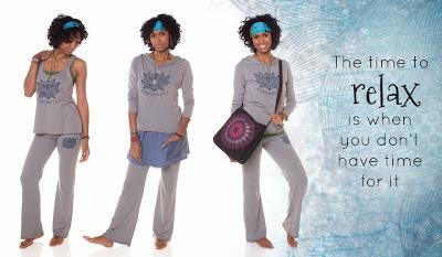 namaste+yoga+clothing - Peace It Together: Winter Lookbook 2013