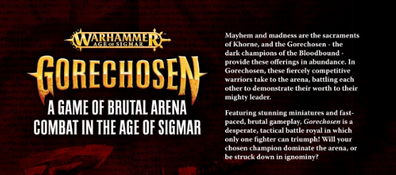 Gorechosen: Brutal Arena Combat