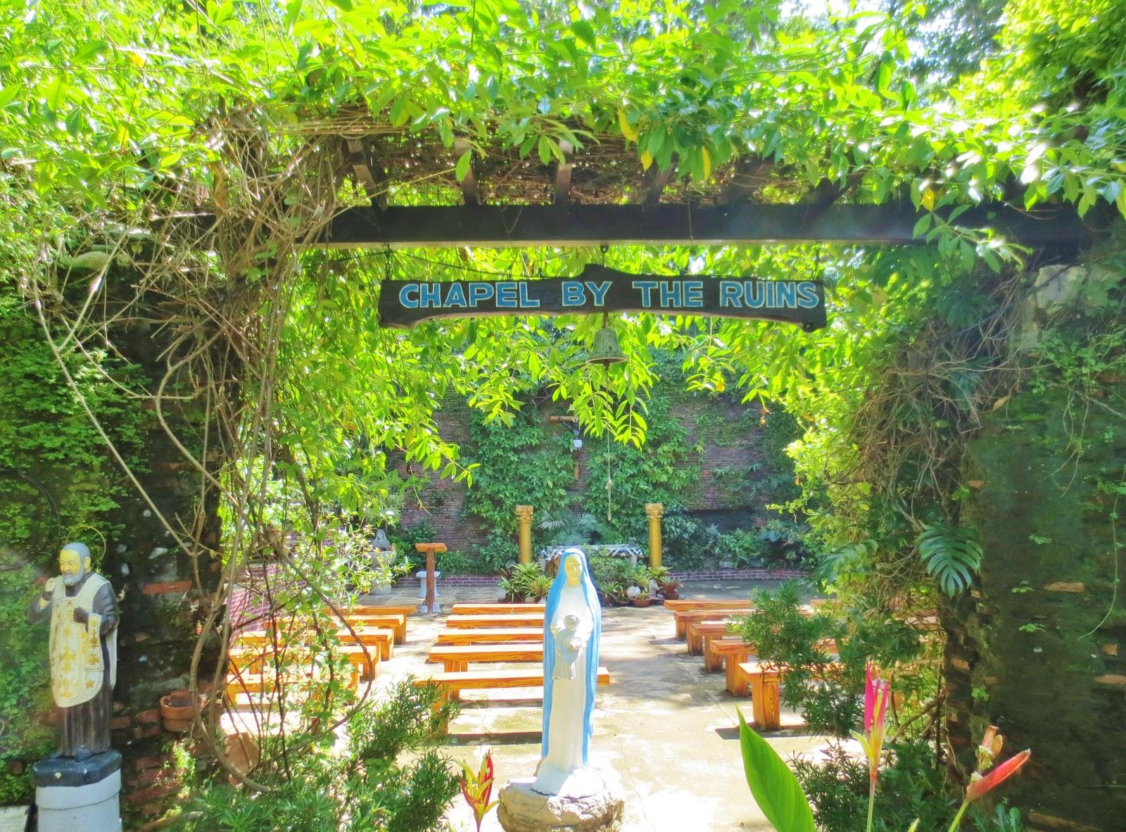 Chapel by The Ruins, Bantay, Ilocos Sur