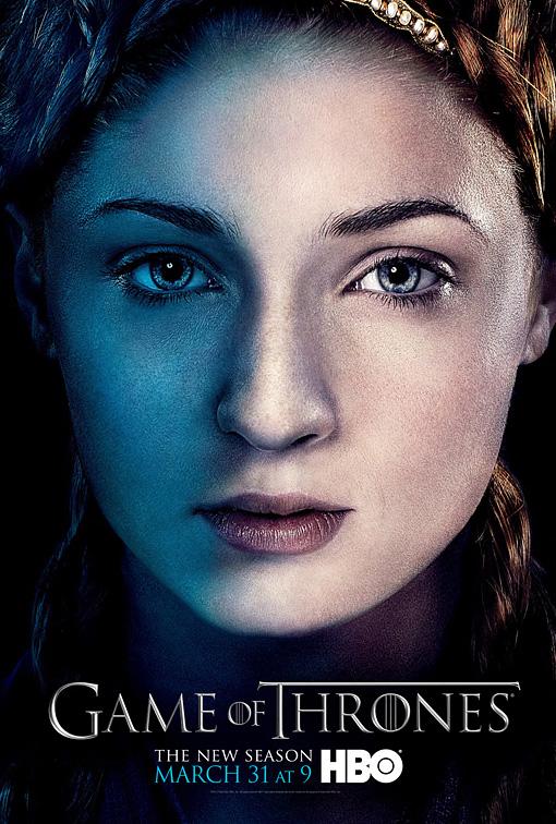 Sansa poster 3T - Juego de Tronos en los siete reinos