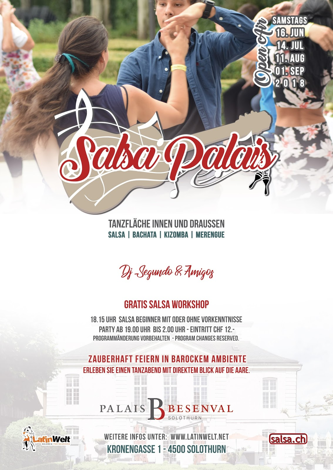 SALSA PALAIS OPEN AIR 2018