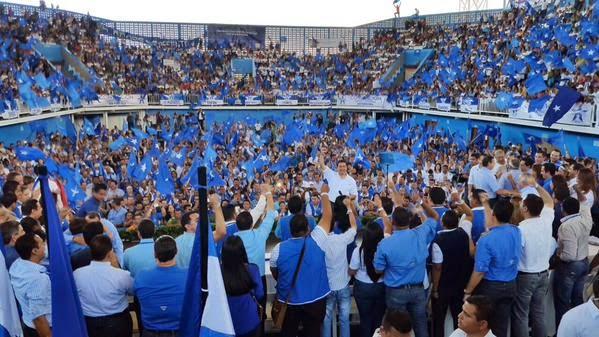 Convencion Partido Nacional de Honduras