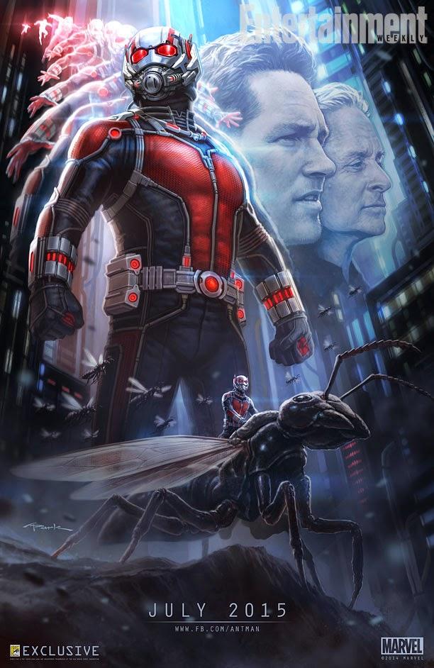 Ant- Man: primer poster