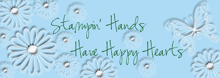 Stampin&#39; Hands Have Happy Hearts