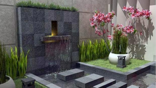 inspirasi seputar rumah minimalis desain taman