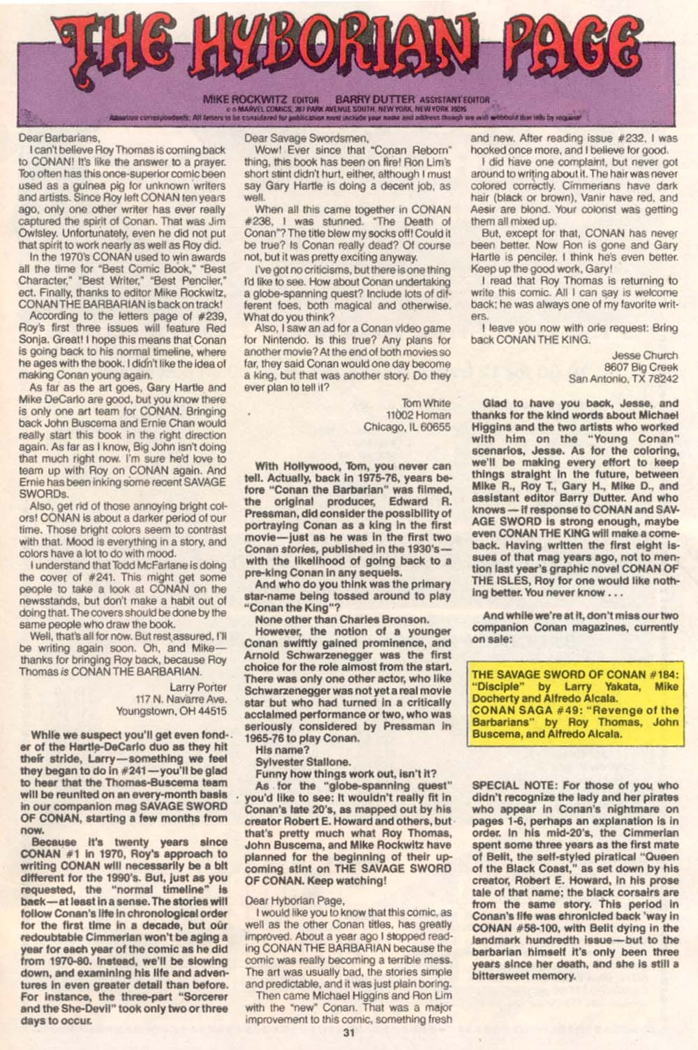 Conan the Barbarian (1970) Issue #243 #255 - English 24