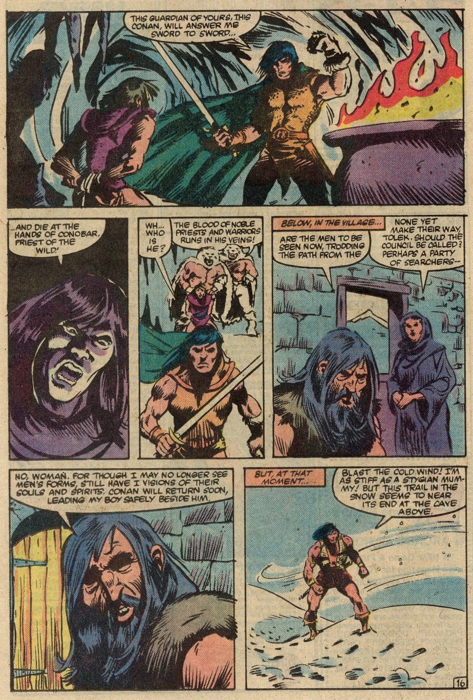 Conan the Barbarian (1970) Issue #145 #157 - English 17