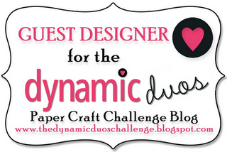 Dynamic Duo Guest Designer, September 2012