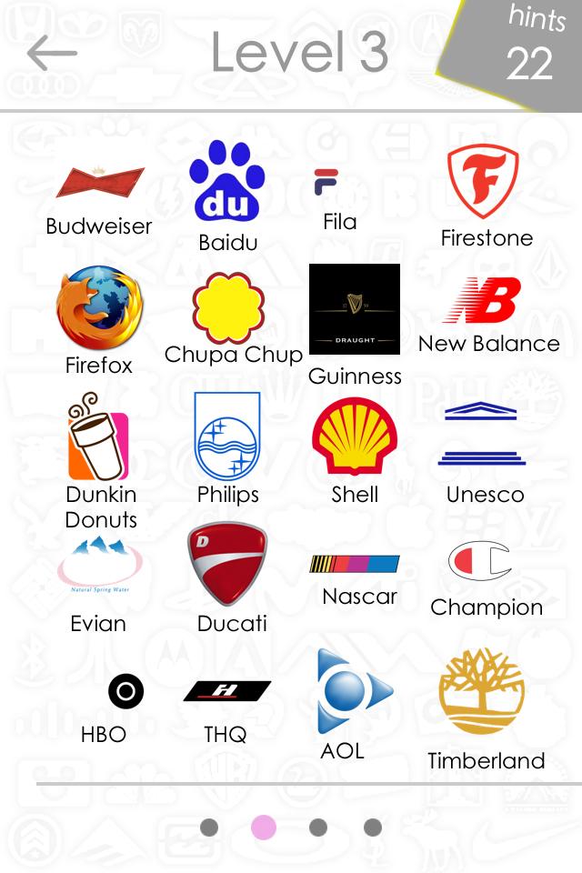 All Logo Quiz Answers Level 3
