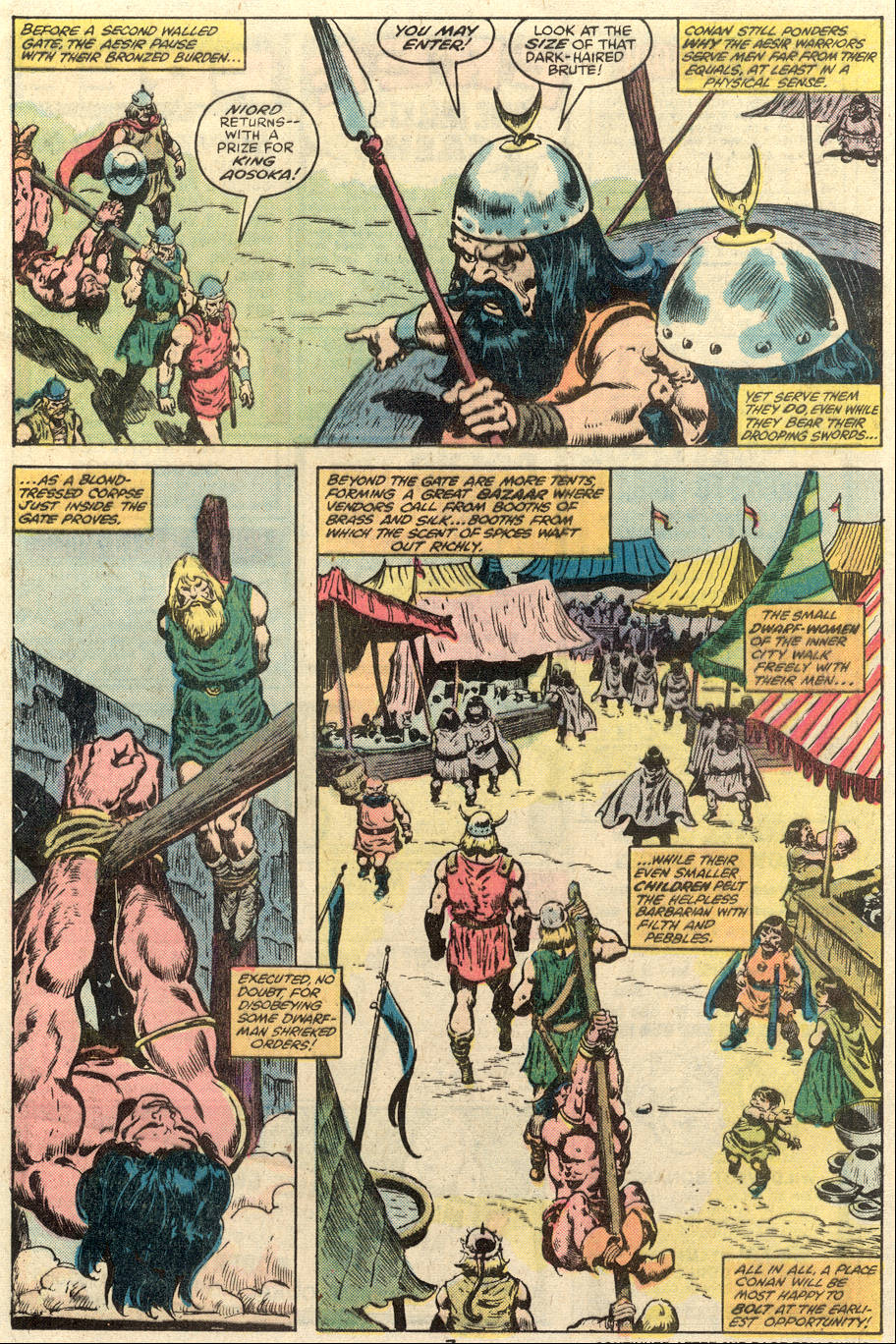 Conan the Barbarian (1970) Issue #110 #122 - English 6