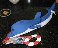 Aussie Naturals Floating Dolphin toy