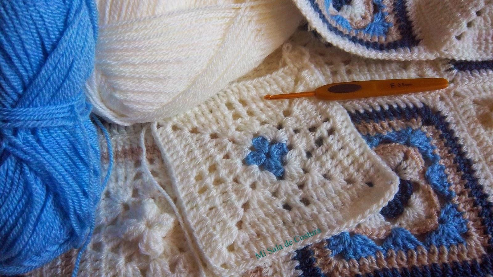 Mi sala de costura colcha ganchillo - Aplicaciones de ganchillo para colchas ...