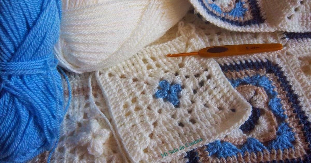 Mi sala de costura colcha ganchillo - Colchas a ganchillo muestras ...