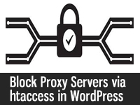 How to block Proxy servers in WordPress