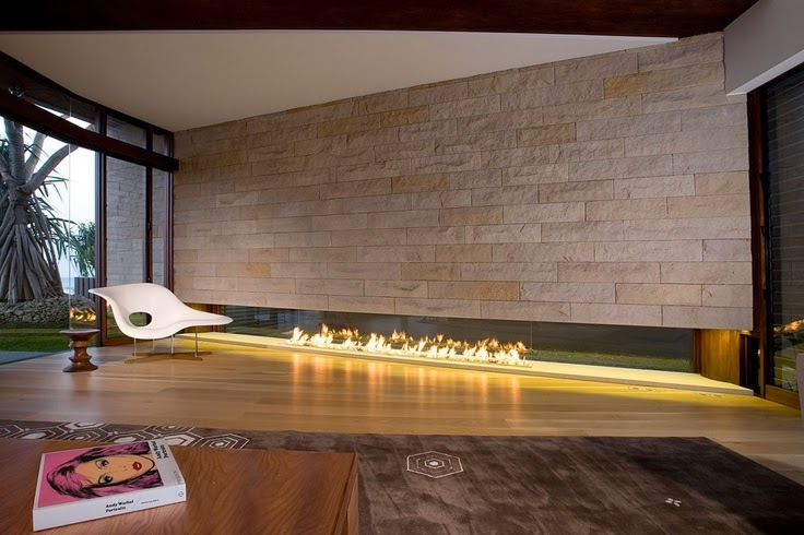 Contemporary Fireplace world of architecture: 20 contemporary fireplace ideas