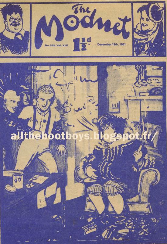 The Modnet - 1981 punk skinhead mod mods