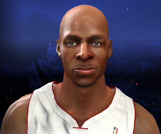 NBA 2K14 Ray Allen Face Mod