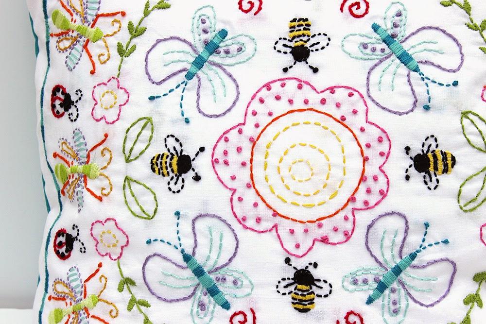 Embroidery stitch a long recap jennifer jangles