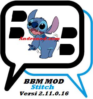 Download Apk BBM Mod Stitch Versi 2.11.0.16