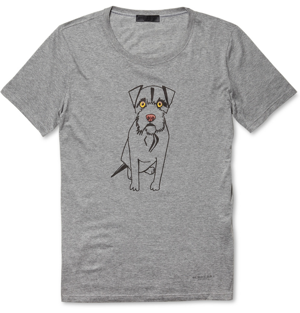 00O00 London Menswear Blog Burberry Prorsum Fall Winter 2012 dog print jersey tshirt Mr Porter 白梓轩 Tom Price Taipei Taiwan store opening 出席 Burberry Prorsum 精品店开幕