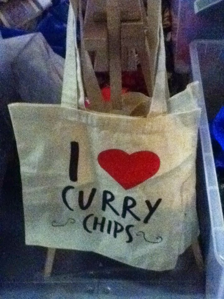 I [Heart] Curry Chips Tote Bag