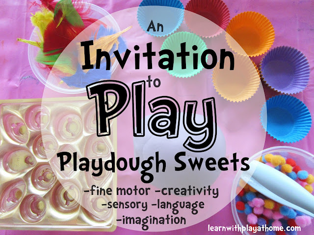 playdough activity, open ended, sensory activity