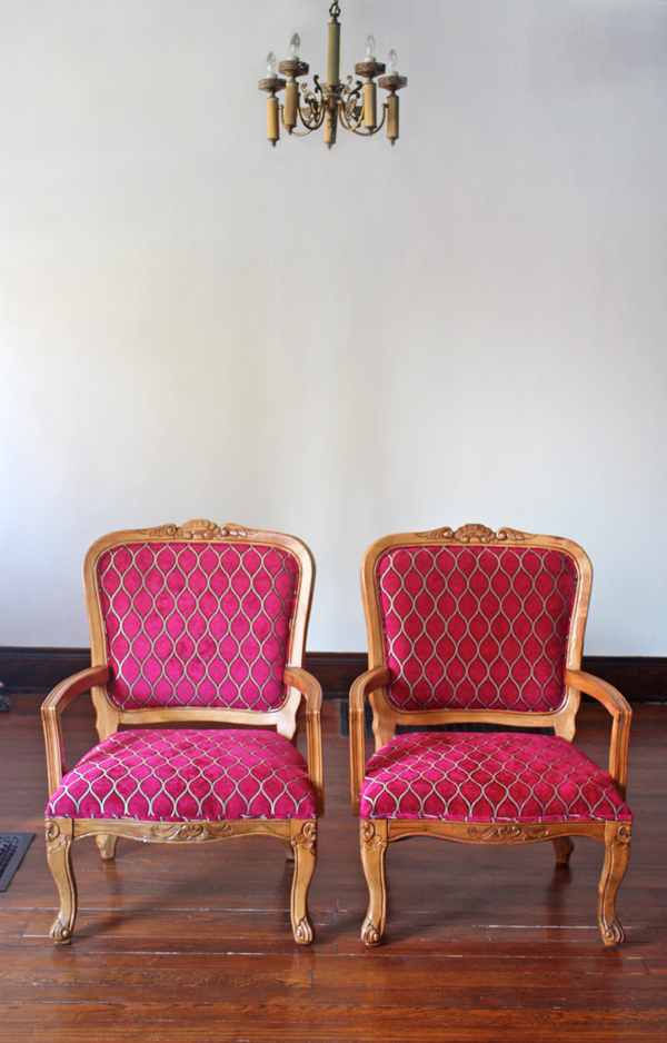 Remember When I Was Getting Quotes On Reupholstering The Craigslist Chairs?  The Two Places Iu0027d Contacted Quoted Me $550 For The Pair, Plus Fabric.