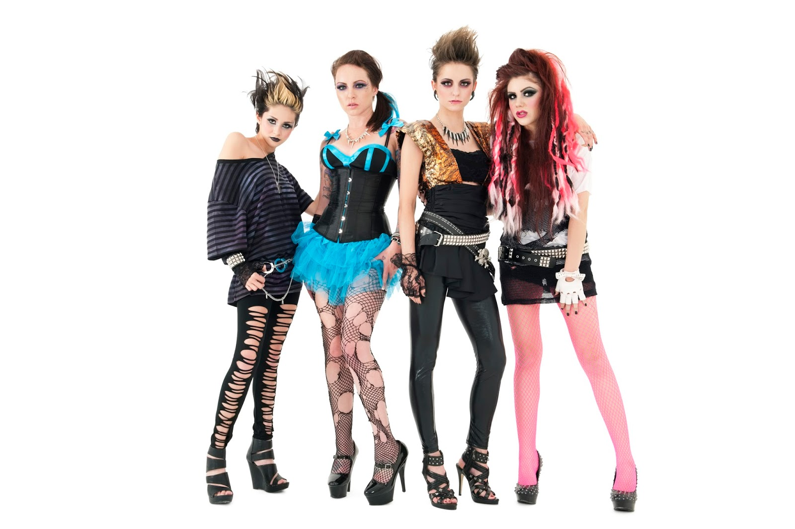 Punk fashion in the 70s 64