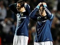 argentina fue eliminada de la copa por uruguay