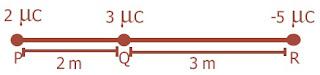 Titik P, Q, dan R terletak pada satu garis