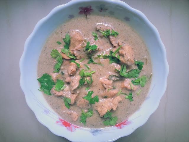 chicken white kuruma,recipe,homemade,tasty,simple,curry