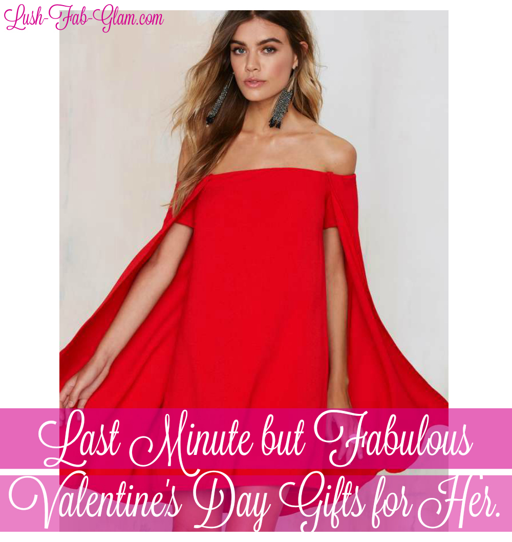 Last Minute but absolutely fabulous Valentine's Day Gifts For Her.