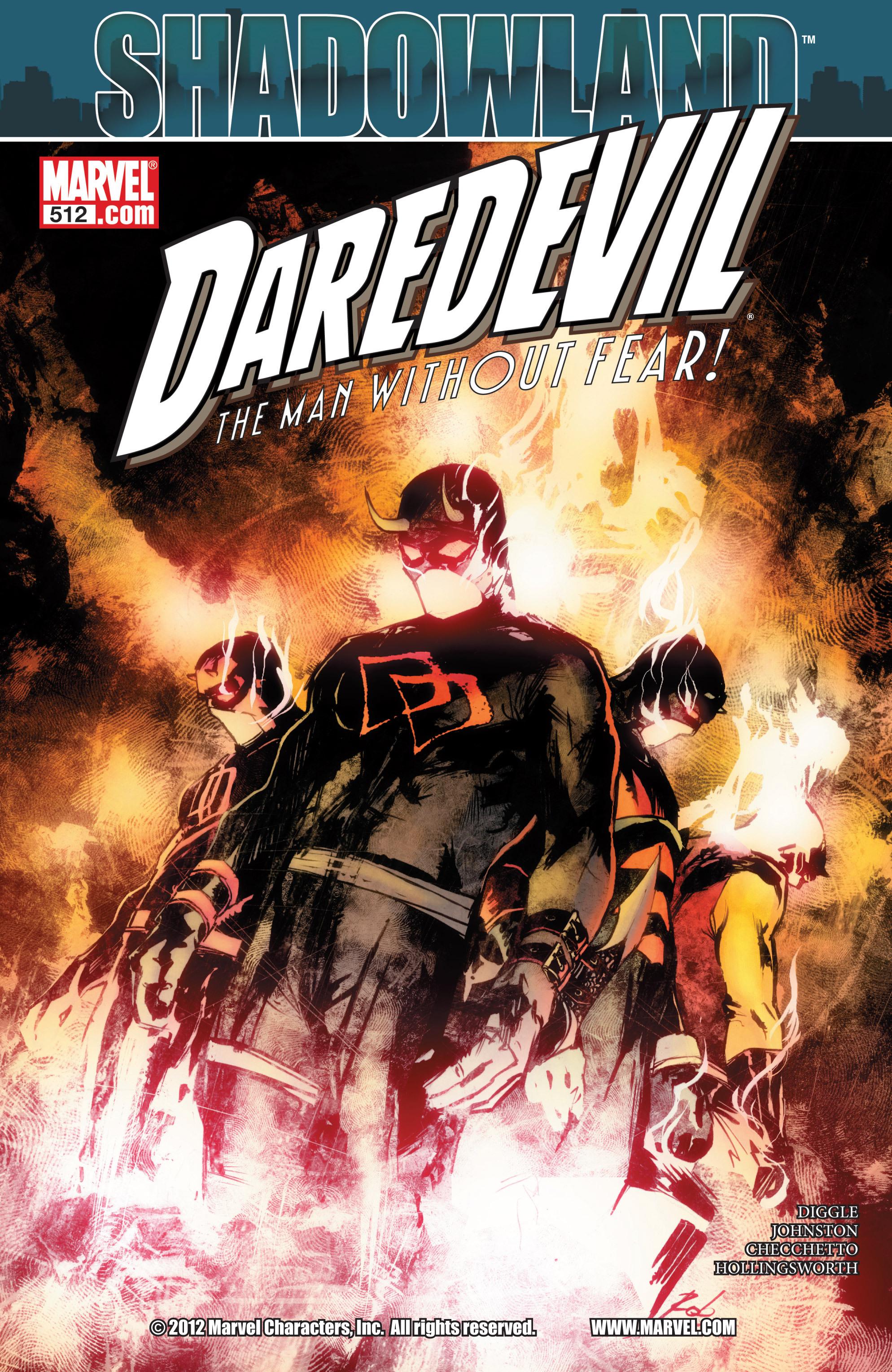 Read online Daredevil (1998) comic -  Issue #512 - 1