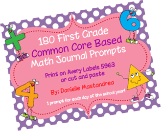 https://www.teacherspayteachers.com/Product/180-First-Grade-Math-Journal-Prompts-Common-Core-Based-1215080