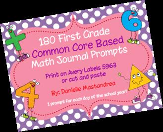 https://www.teacherspayteachers.com/Product/180-First-Grade-Math-Journal-Prompts-Common-Core-Based-1215080